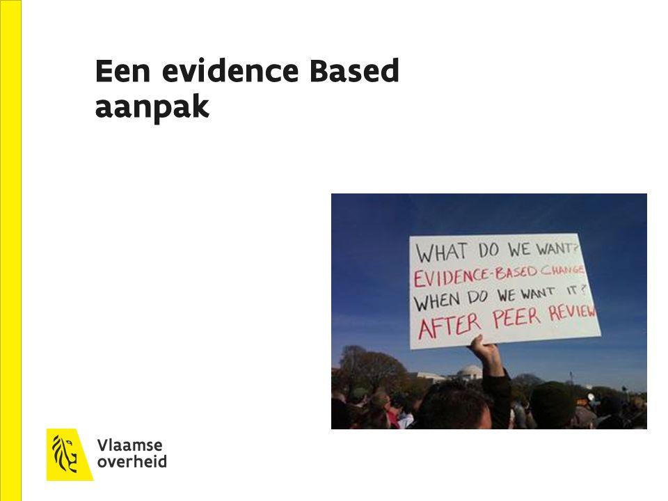 Een evidence Based aanpak