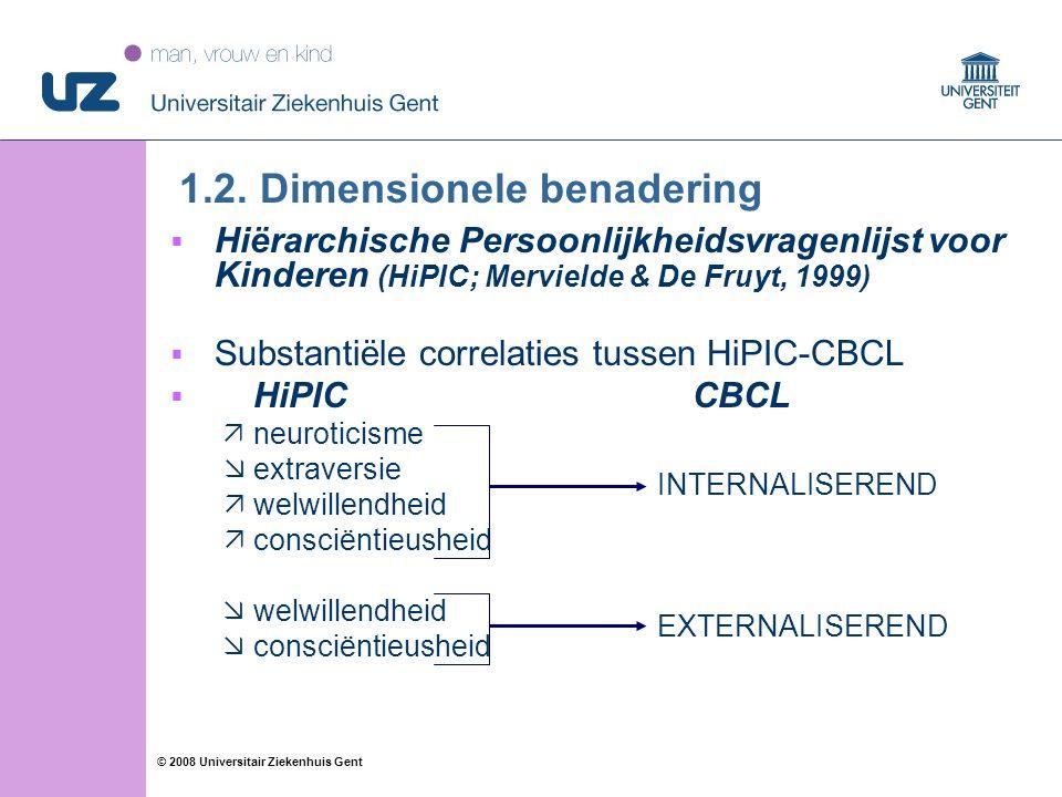 20 © 2008 Universitair Ziekenhuis Gent 1.2.