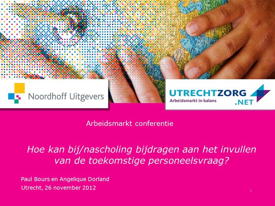 Arbeidsmarkt conferentie Hoe kan bij/nascholing bijdragen aan het invullen van de toekomstige personeelsvraag.