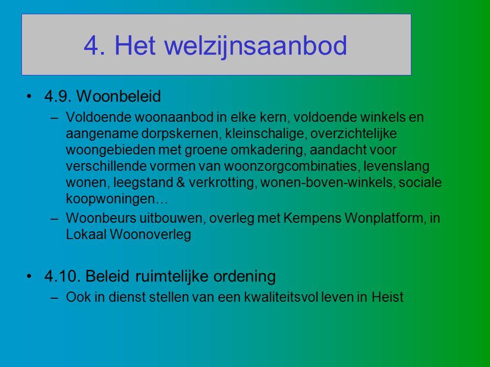 4. Het welzijnsaanbod 4.9.