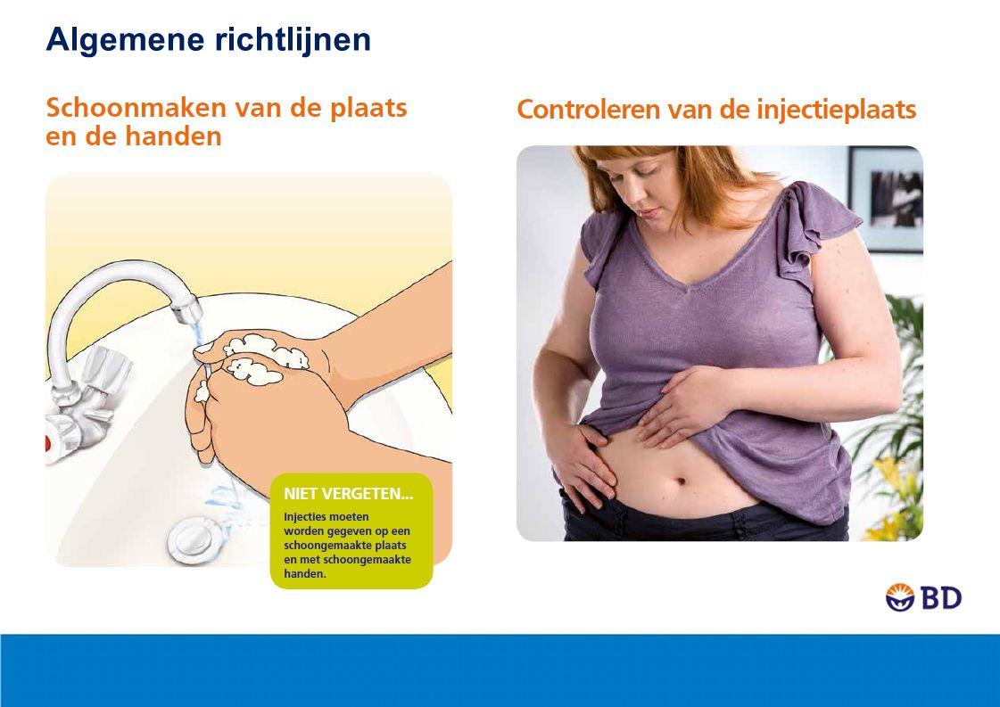 BD Micro-Fine™+ en BD Micro-Fine Ultra™ pennaalden passen op alle pennen voor de behandeling van diabetes Algemene richtlijnen