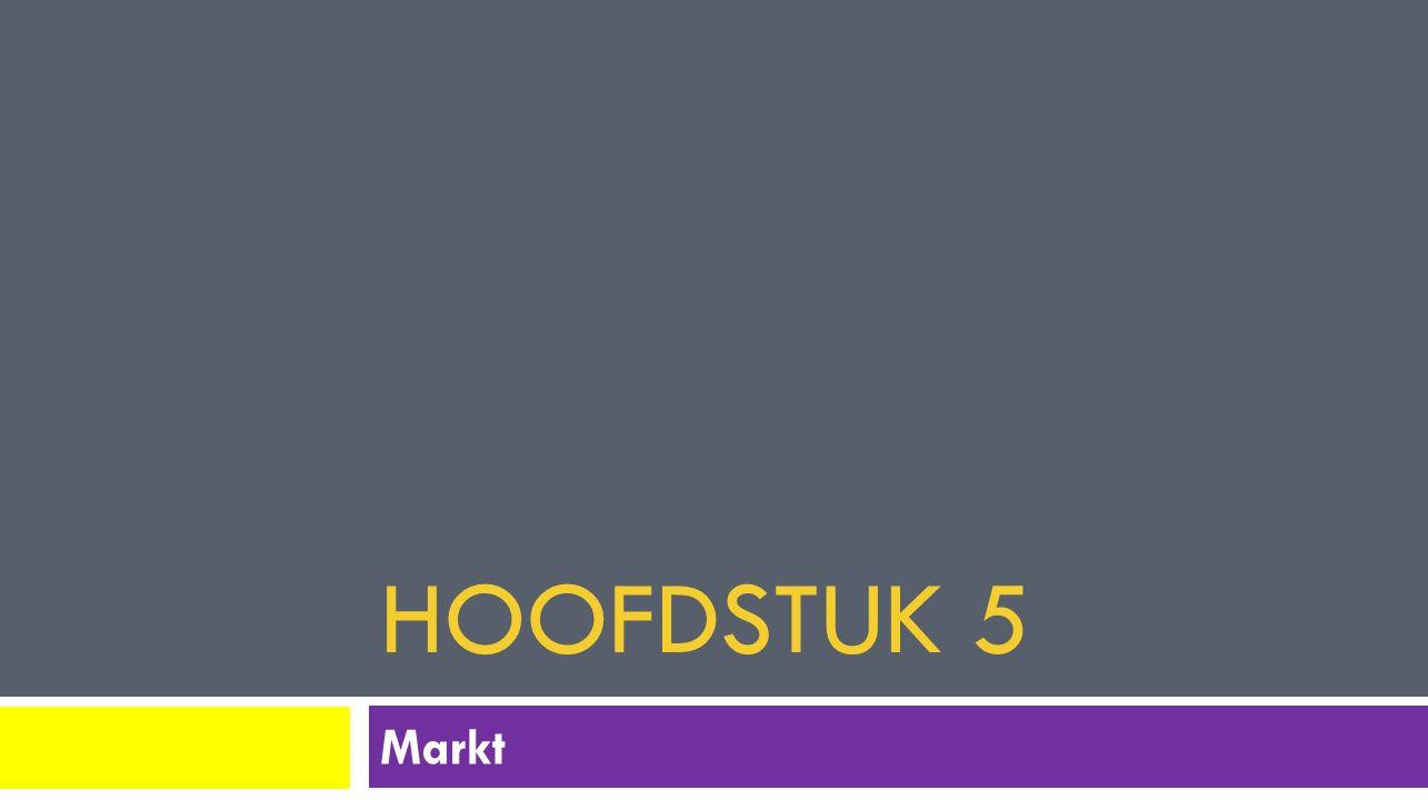 HOOFDSTUK 5 Markt