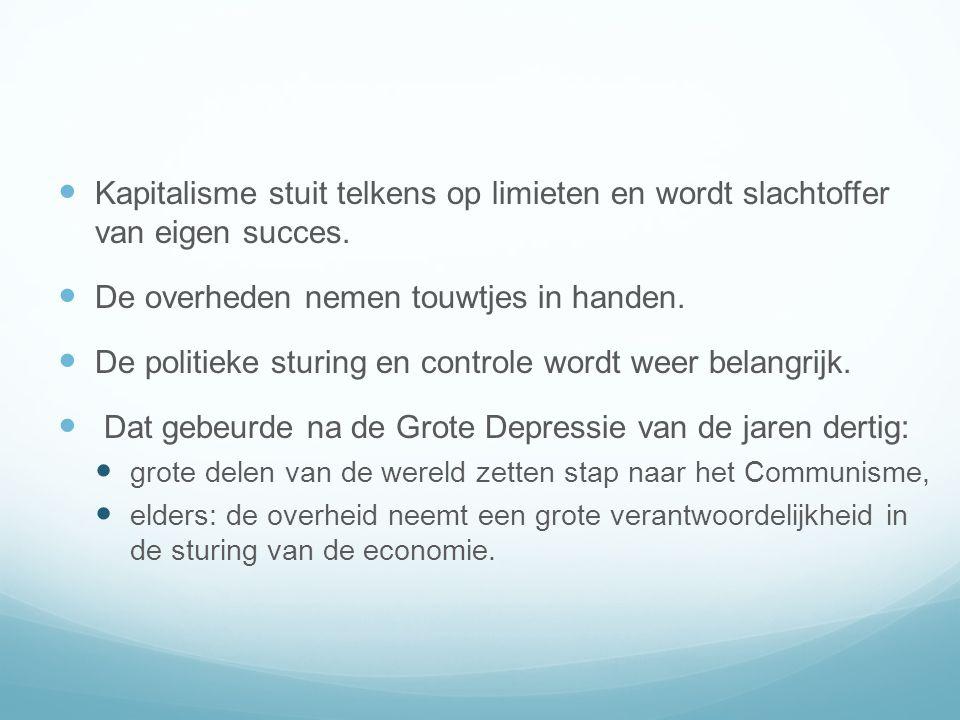 Kapitalisme stuit telkens op limieten en wordt slachtoffer van eigen succes.