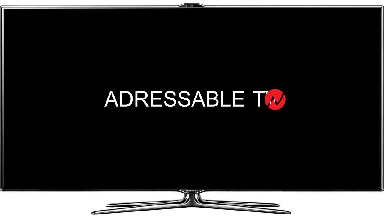 ADRESSABLE TV