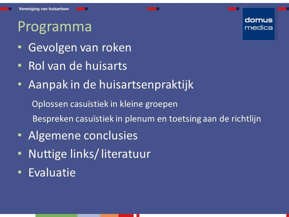 Gevolgen van roken mortaliteit Roken: veruit belangrijkste doodsoorzaak in België .