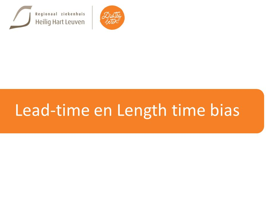 Lead-time en Length time bias