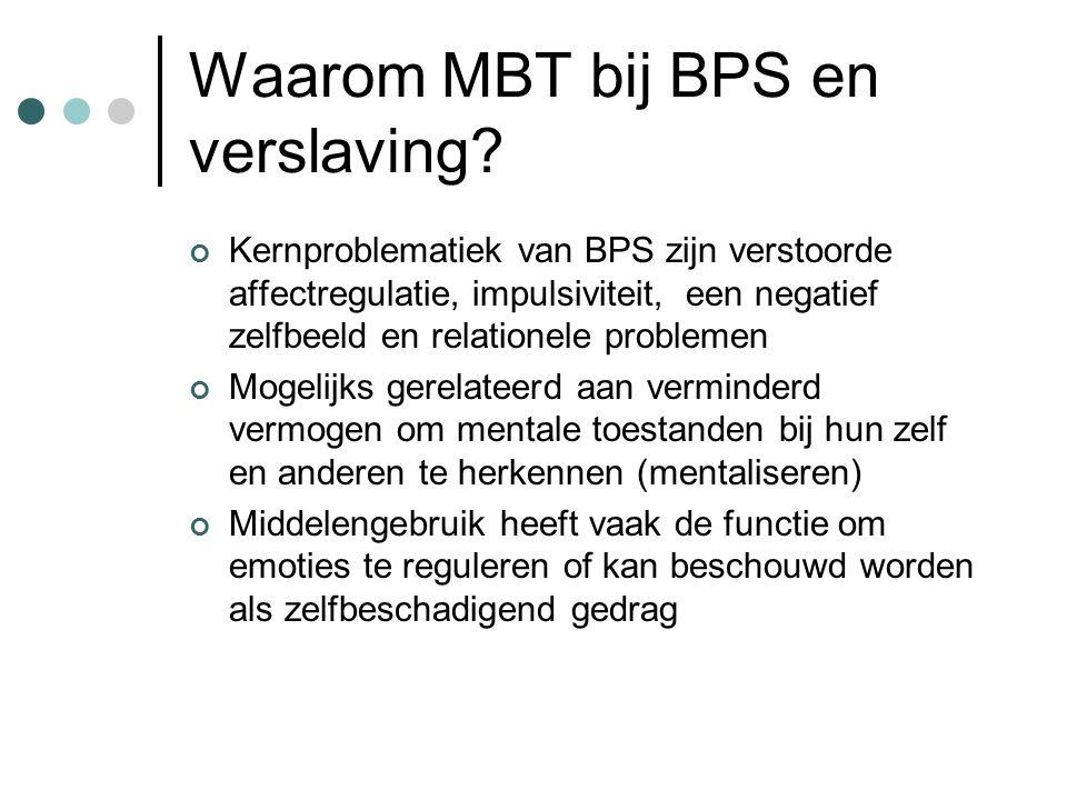 Waarom MBT bij BPS en verslaving.