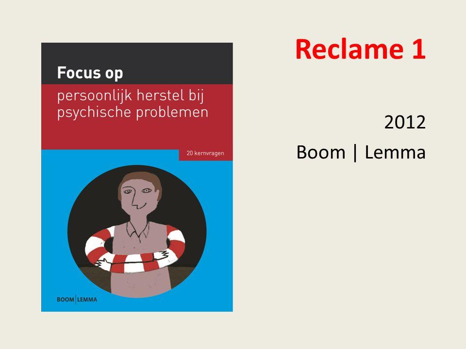 Reclame 1 2012 Boom | Lemma