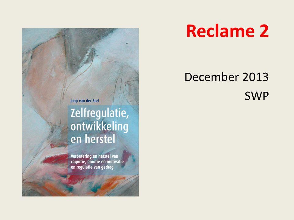 Reclame 2 December 2013 SWP
