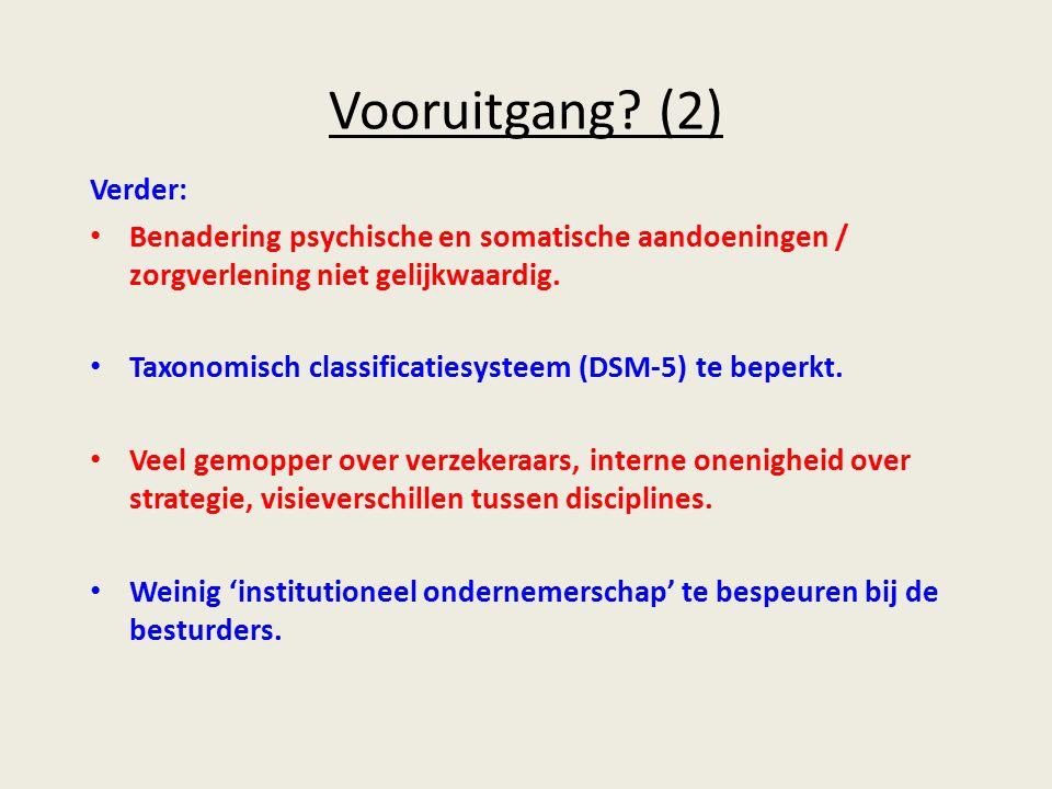 Tot slot: omarm de ICF Relativeer de betekenis van de DSM-5.
