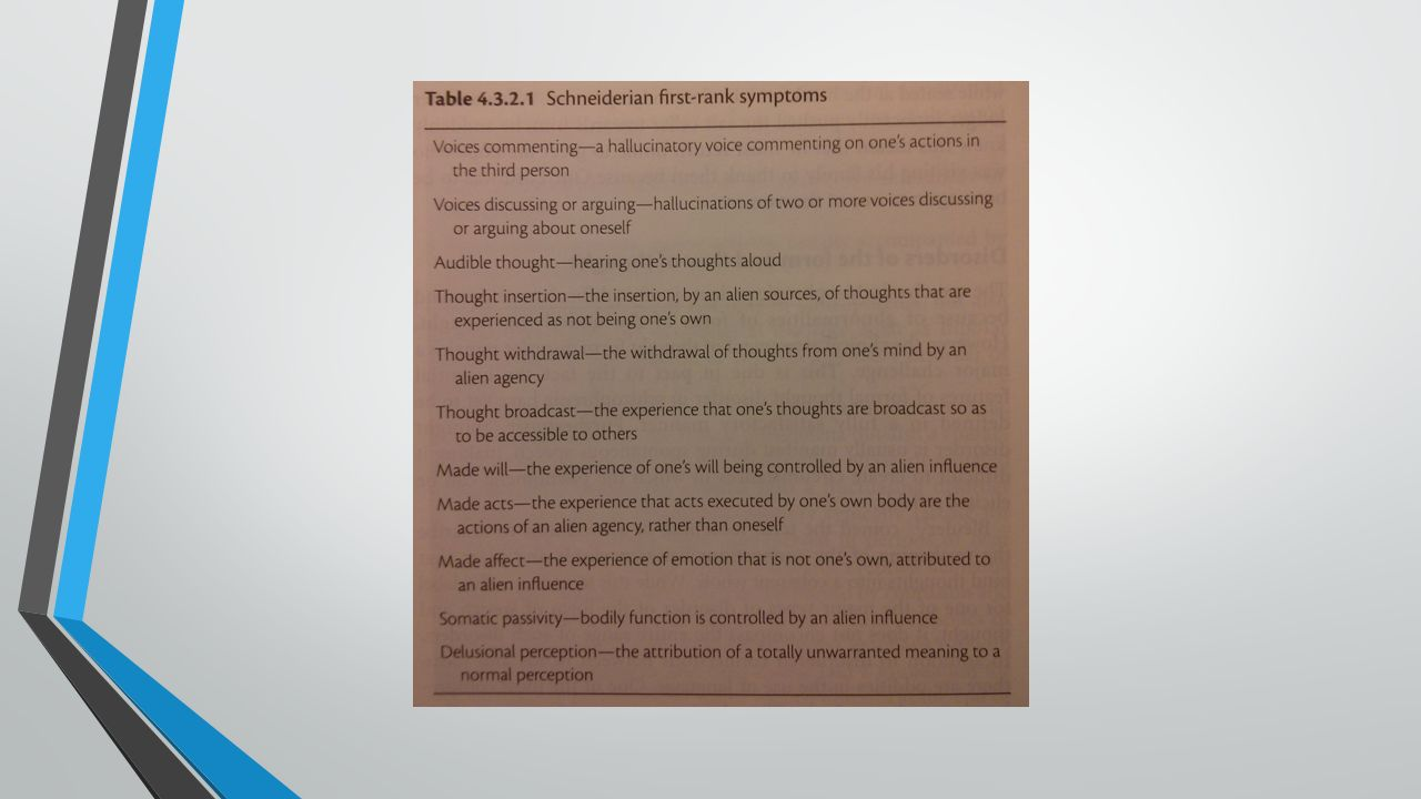 DSM-III criteria: provisional consensus agreement based on clinical judgement