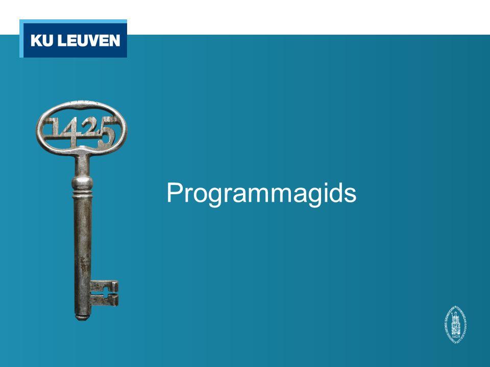 Programmagids