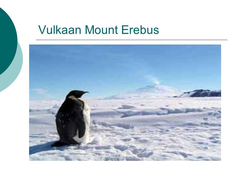 Vulkaan Mount Erebus