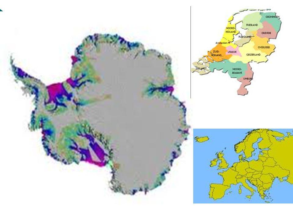 Naam Antarctica Anti = tegen Arctica = Noordpool Tegenpool van de Noordpool