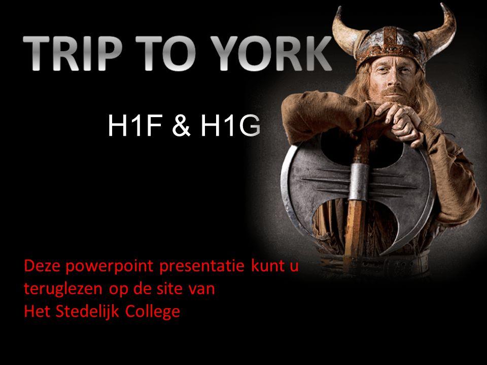H1F & H1G Deze powerpoint presentatie kunt u teruglezen op de site van Het Stedelijk College