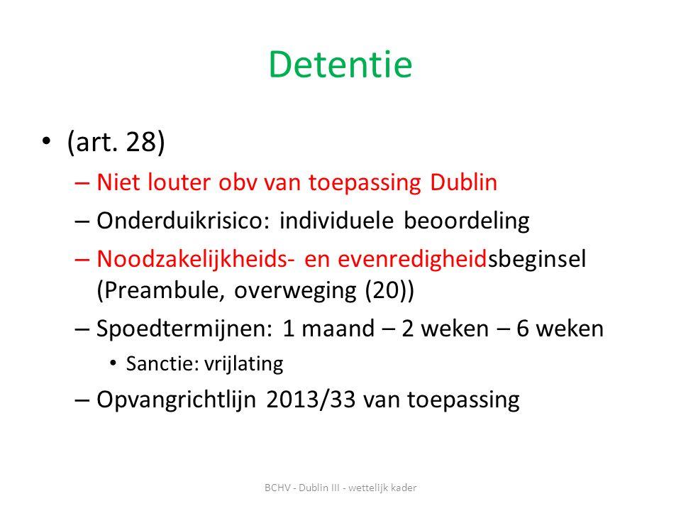 Detentie (art.