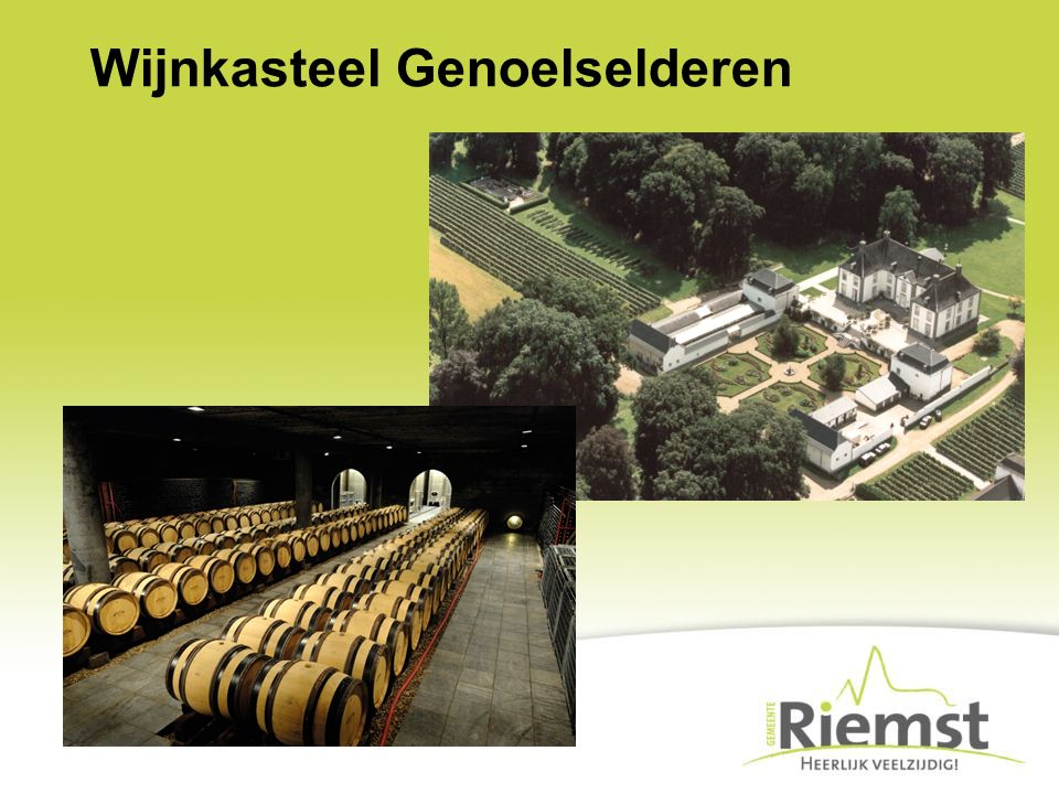 Uitbreiding ambachtelijke zone Ambachtelijke zone 'Op't Reeck': –230 arbeidsplaatsen – 25 bedrijven op 14,5 ha Plaats voor 20 extra bedrijven op 4,55 ha Gemiddelde: –2.345 m²/bedrijf –7,2 arbeidsplaatsen/ha (of 3,25/bedrijf)