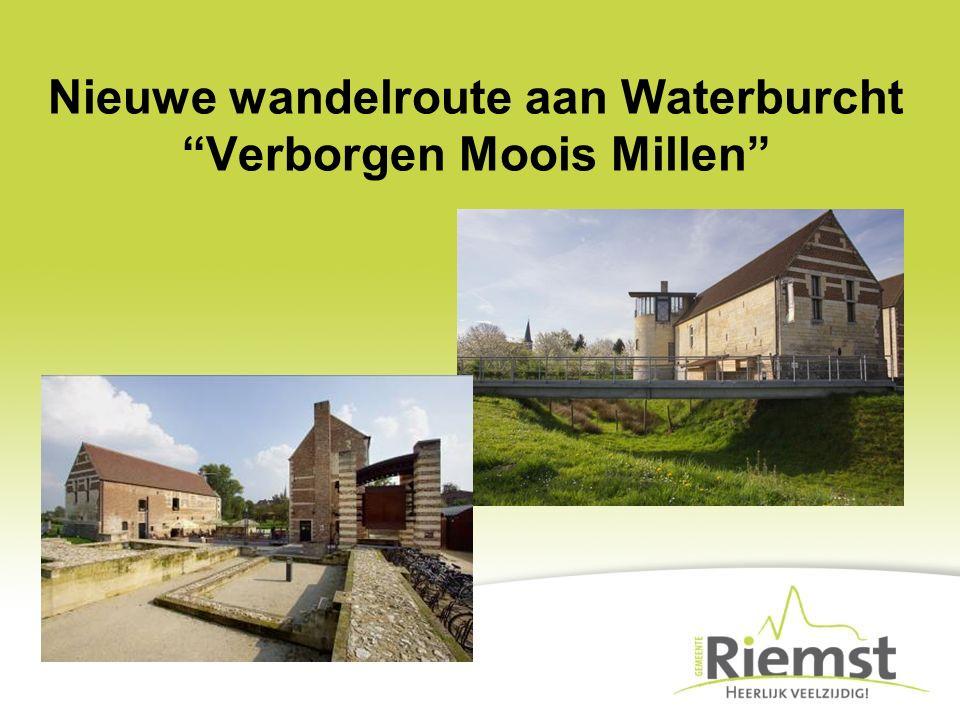 """Nieuwe wandelroute aan Waterburcht """"Verborgen Moois Millen"""""""