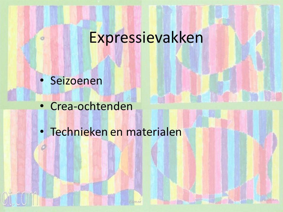 Expressievakken Seizoenen Crea-ochtenden Technieken en materialen