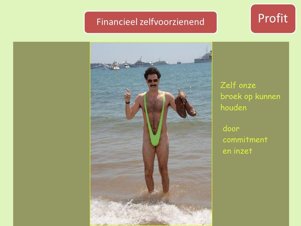 Profit Financieel zelfvoorzienend
