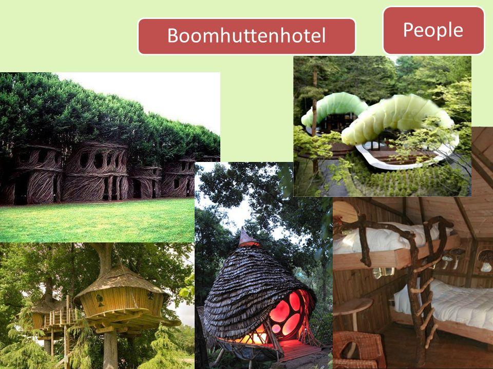 People Boomhuttenhotel