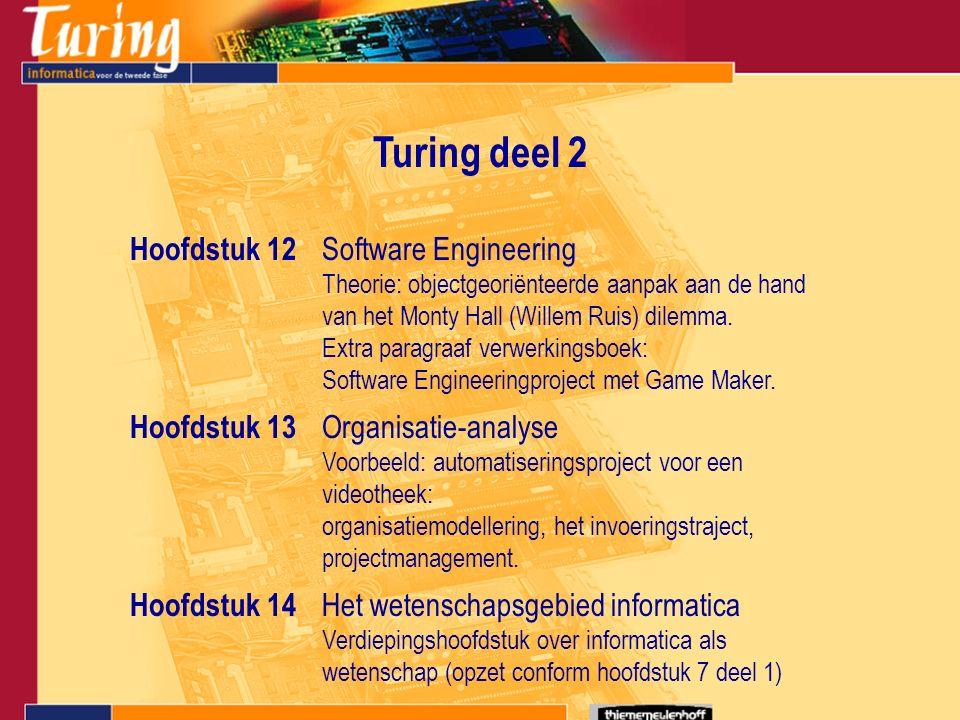 Software Engineeringproject met Game Maker.