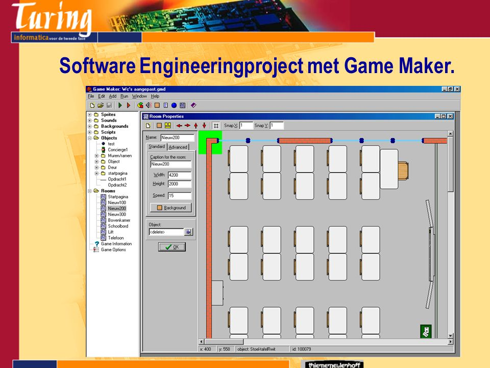 Software Engineeringproject met Game Maker.