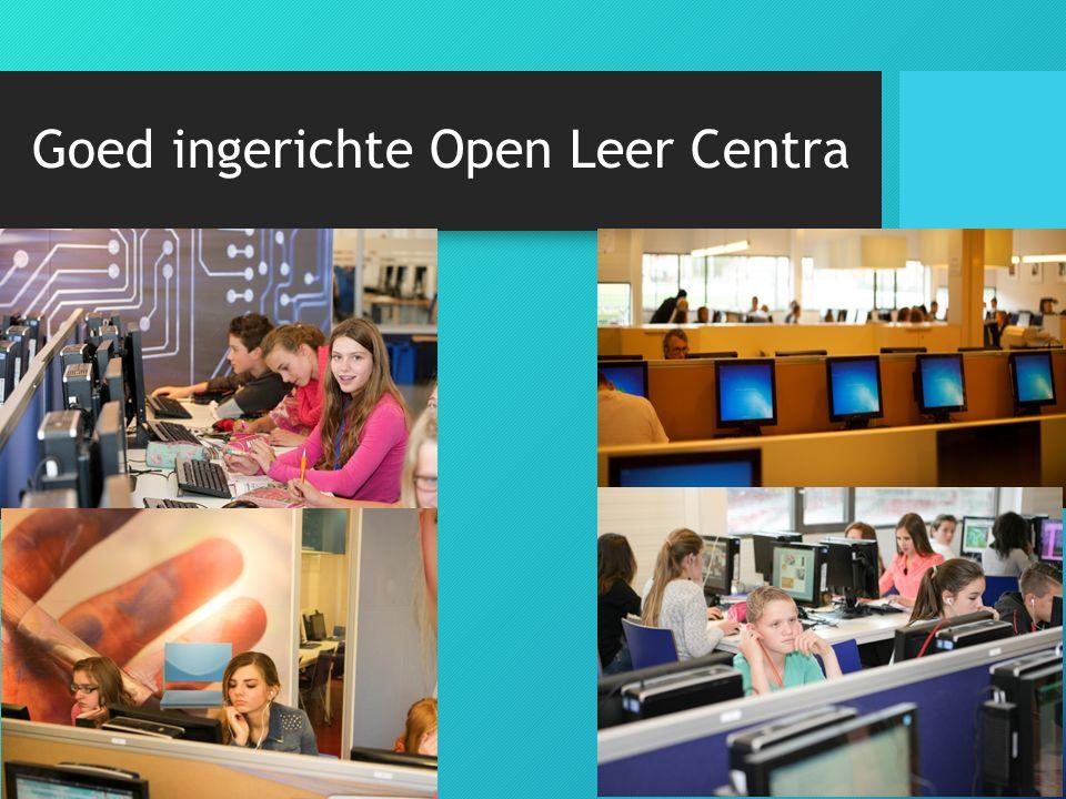 Goed ingerichte Open Leer Centra