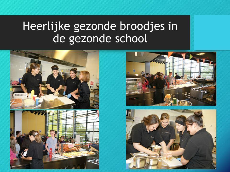 Heerlijke gezonde broodjes in de gezonde school