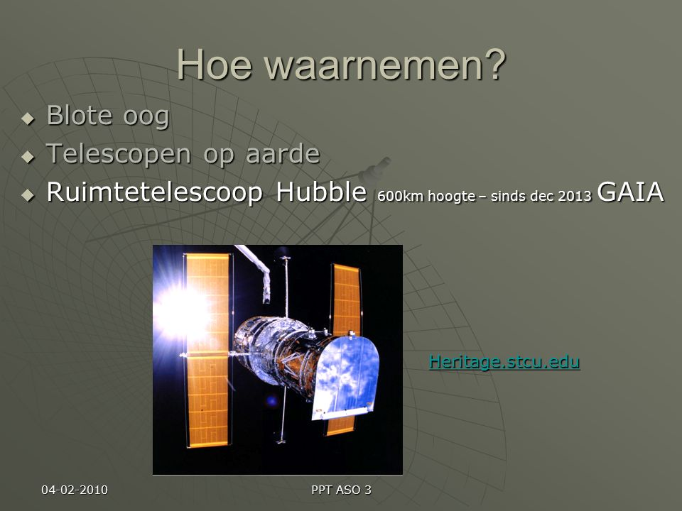 17-12-2013 PPT ASO 3 Afstanden  Kilometer: vb.Nizar 758.6 biljoen km  AE: vb.