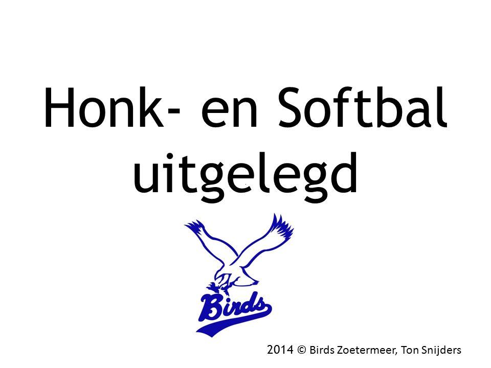 Honk- en Softbal uitgelegd 2014 © Birds Zoetermeer, Ton Snijders