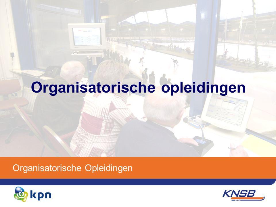 Organisatorische Opleidingen Organisatorische opleidingen