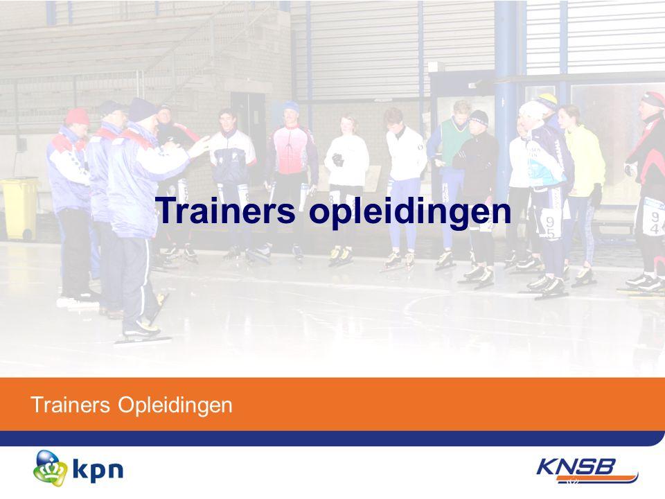 Functiestructuur trainers opleidingen