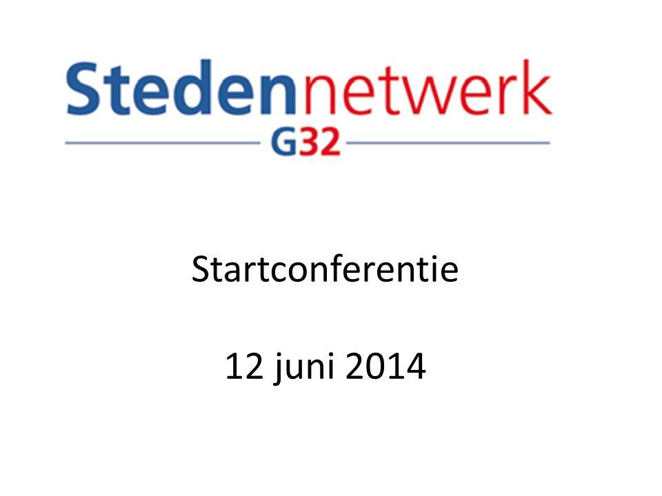 Startconferentie 12 juni 2014