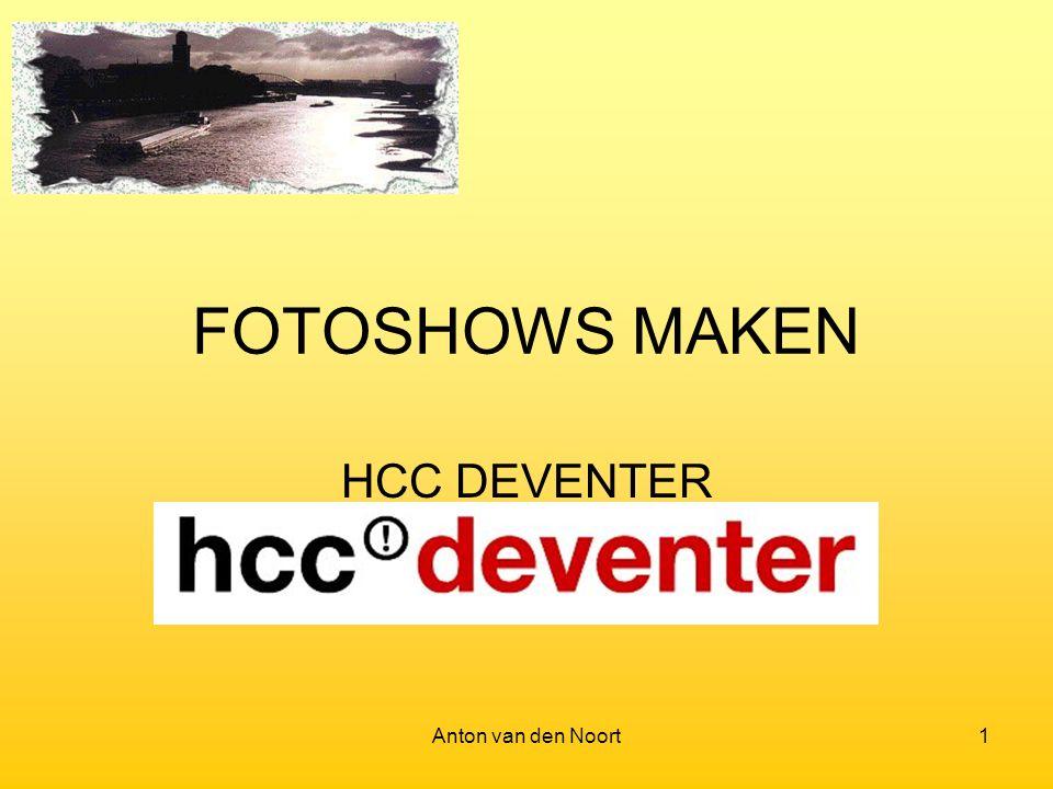 Anton van den Noort1 FOTOSHOWS MAKEN HCC DEVENTER
