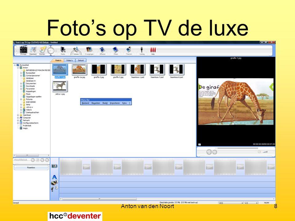 Anton van den Noort8 Foto's op TV de luxe