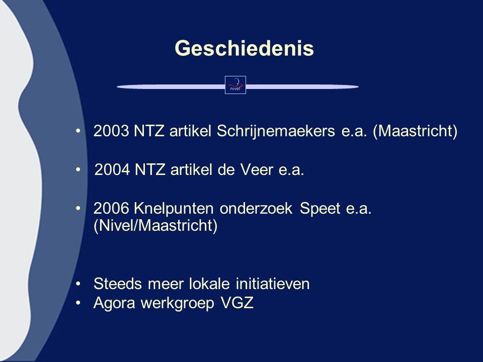 Geschiedenis 2003 NTZ artikel Schrijnemaekers e.a.
