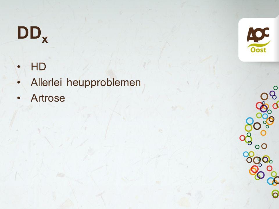 DD x HD Allerlei heupproblemen Artrose