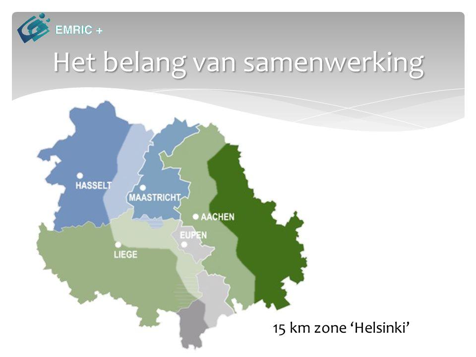 Het belang van samenwerking 15 km zone 'Helsinki'