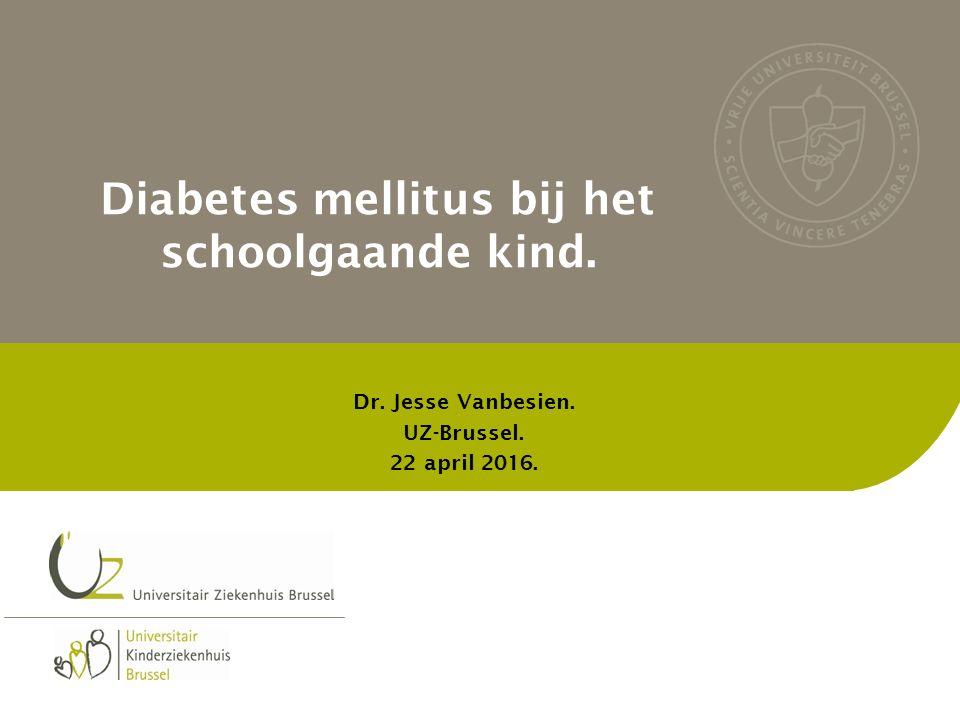 Vraag 1: Toedienen medicatie (glucagon en insuline) in de (lagere) school bij kind met diabetes mellitus type 1.