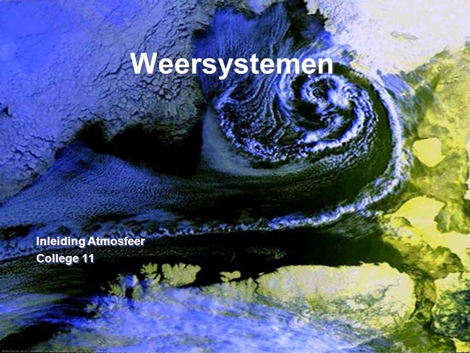 32 4. Bijzondere depressies Thermisch lagedrukgebied Weersystemen