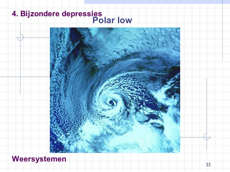 33 Weersystemen Polar low 4. Bijzondere depressies