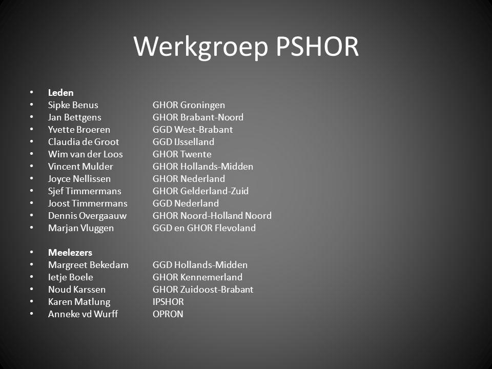 Naamgeving PSHOR heeft begrippen 'ongevallen' en 'hulpverlening' in zich.