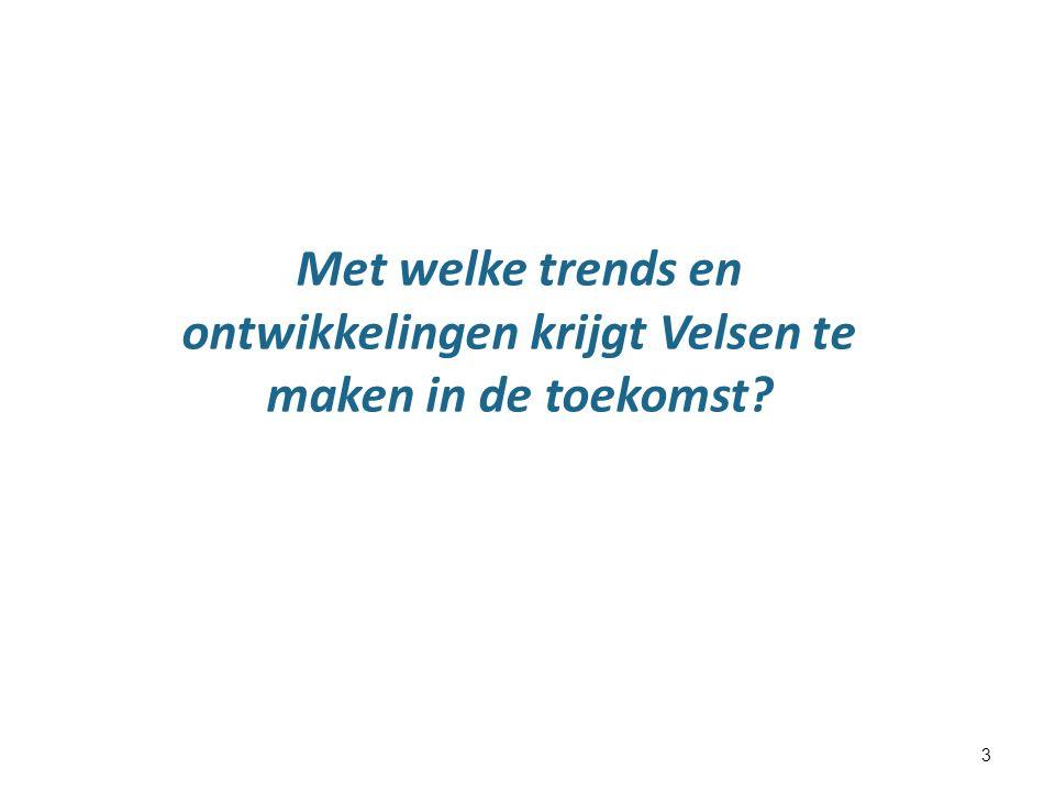 3 Met welke trends en ontwikkelingen krijgt Velsen te maken in de toekomst?
