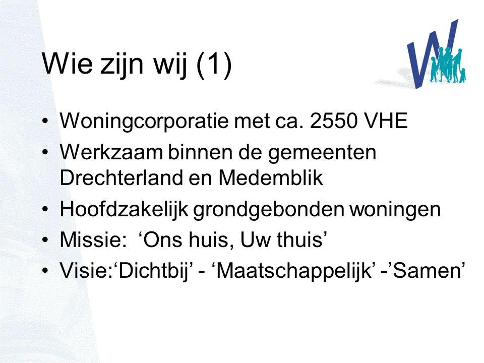 Wie zijn wij (2) Woningstichting Het Grootslag is een lokaal verankerde, klantgerichte onderneming die investeert in Wonen, Welzijn en Zorg en daarin haar maatschappelijke verantwoordelijkheid neemt.