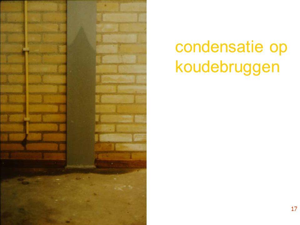 condensatie op koudebruggen 17