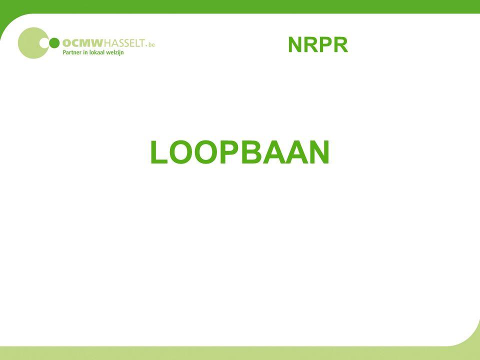 NRPR LOOPBAAN