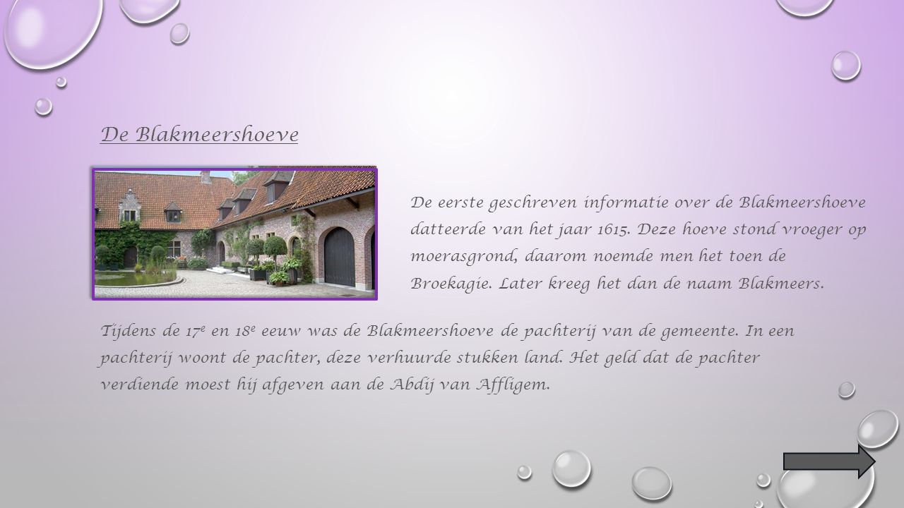Hof ter Saele Dit is een hoeve die vroeger een deel was van het kasteel van Hekelgem.