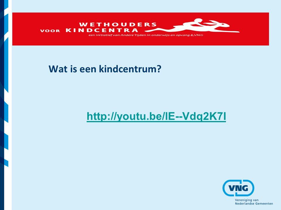 Wat is een kindcentrum? http://youtu.be/lE--Vdq2K7I