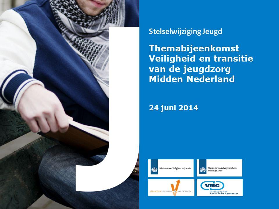 Themabijeenkomst Veiligheid en transitie van de jeugdzorg Midden Nederland 24 juni 2014